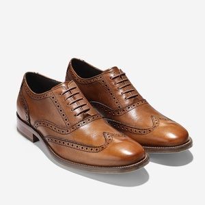Cole Haan Wingtip Dress Shoes NWT